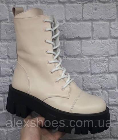 Ботинки молодежные из натуральной кожи от производителя модель БФ9016