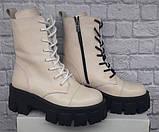 Ботинки молодежные из натуральной кожи от производителя модель БФ9016, фото 2