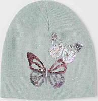 H&M шапка для девочки демисезонная р. 4-8 лет, р. 110-128 ОГ 51-53