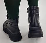 Ботинки молодежные из натуральной кожи от производителя модель БС1080-3, фото 3