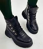 Ботинки молодежные из натуральной кожи от производителя модель БС1080-3, фото 2