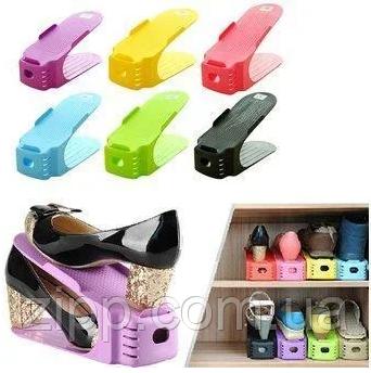Подставка для обуви (полка для обуви) SHOES HOLDER МИКС (6 штук в коробке)