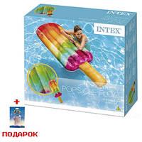 Пляжный надувной матрас для плавания Intex 58766 Эскимо
