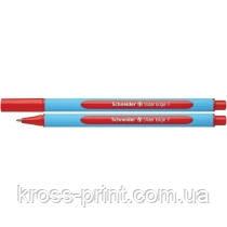 Ручка масляна Schneider SLIDER EDGE F синя