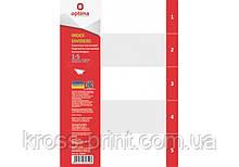 Роздільник аркушів А4 Optima, пластик, 1-5 розділ, цифровий