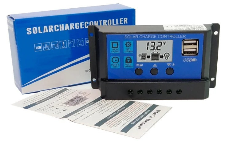 Контроллер заряда для солнечных батарей на ШИМ 20А