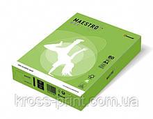 Бумага цветная А4 80 г/м 500л Maestro Color Intensive MA42 Spring Green зеленый