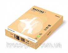 Бумага цветная А4 160 г/м 250л Maestro Color Trend GO22 Gold золотой