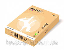 Бумага цветная А4 80 г/м 500л Maestro Color Trend GO22 Gold золотой