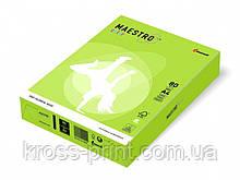 Бумага цветная А4 160 г/м 250л Maestro Color Intensive LG46 Lime Green зеленая липа