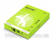 Бумага цветная А4 80 г/м 500л Maestro Color Neon Green зеленый
