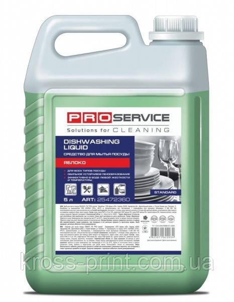 Средство для мытья посуды PRO STANDART 5л Яблоко канистра 25472361 4шт/уп