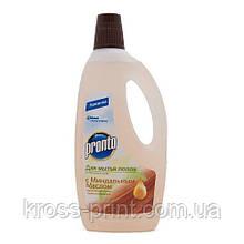 Моющее средство для уборки полов Пронто Интенсивный уход с миндальным маслом750мл