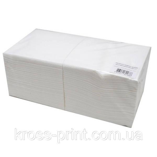 Салфетки столовые 24х24см 2слоя 200шт PROservice белые 12шт/уп 43107710