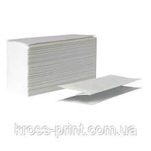 Полотенце бумажное V белое 2слоя 150л ПП 20шт/уп
