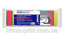 Губка кухонная 10шт PRO Standart микс 46шт/уп 15201400