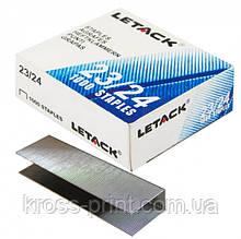 Скобы №23/24 240л 1000шт Letack-2324