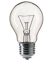 Лампа накаливания 100W E27 PHILIPS А55 100шт/уп
