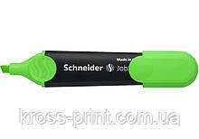 Маркер текстовый Schneider Job 150 S1504 зеленый 10шт/уп