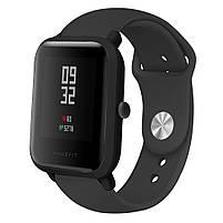 Ремешок для часов Sport design bracelet Universal, 20 мм. Black, фото 2