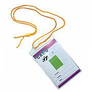 Бейджи Agent вертикальные CD-108 А на шнурке 100 шт (6917201118028)