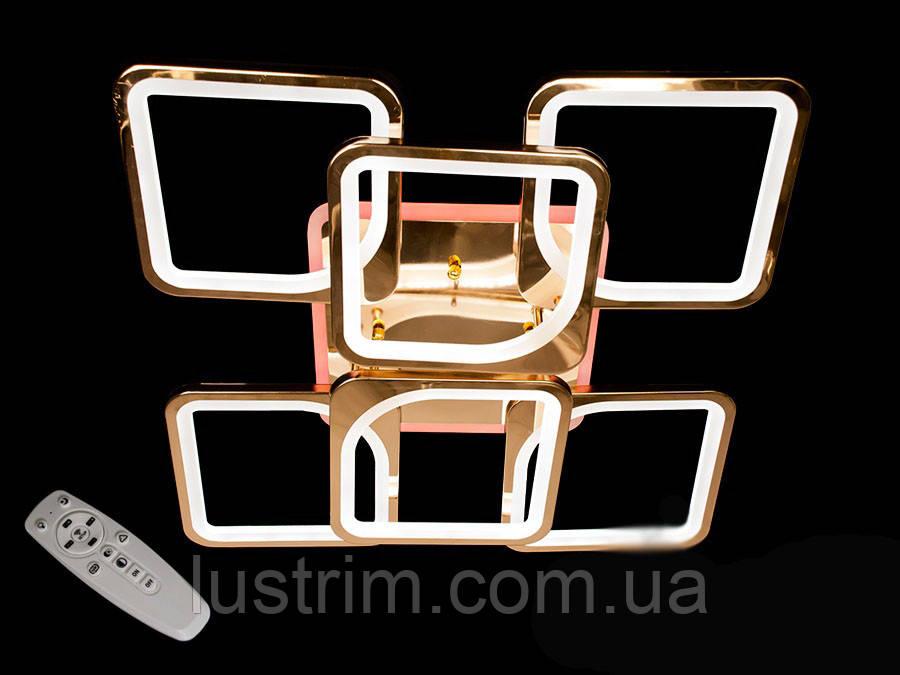 Светодиодная люстра с диммером и LED подсветкой, 180W