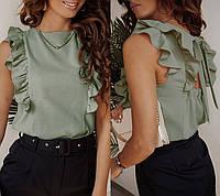 """Женская блузка с рюшами и бантом """"Рюша"""""""