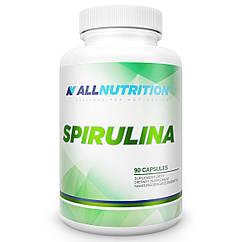 Спирулина AllNutrition Spirulina (90 капс) алл нутришн