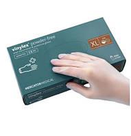 Перчатки виниловые неопудренные Mercator Medical VINYLEX PF XL 100 штук Белые (MAS40133)