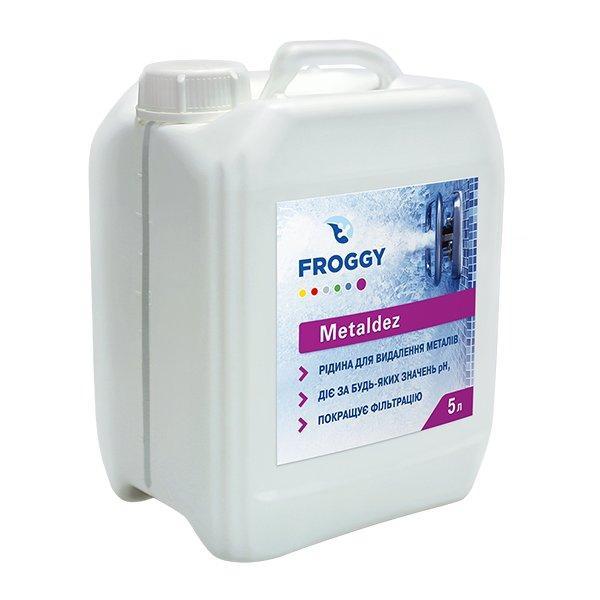 Жидкость для удаления металлов FROGGY Metaldez 5 л (ps0108006)