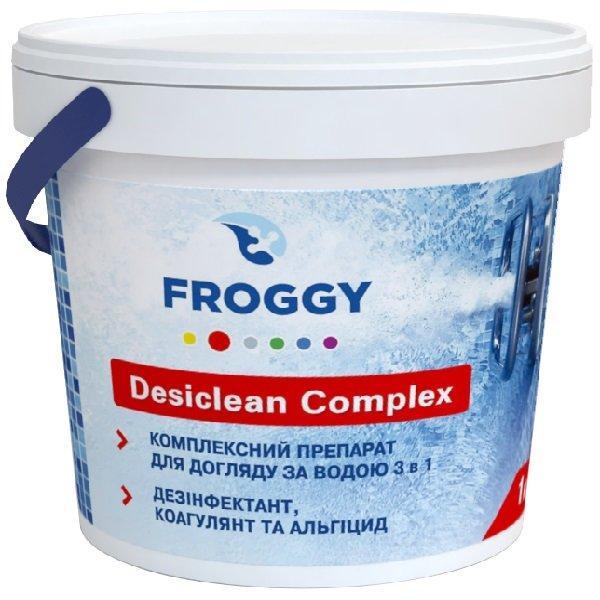 Комплексное средство FROGGY Desiclean Complex 3 в 1 таблетки 200гр 5 кг (ps0101011)