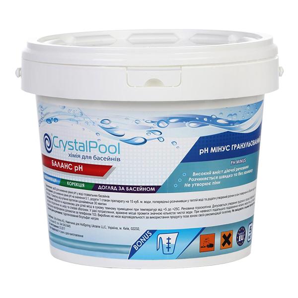 Препарат в гранулах Crystal Pool pH Minus 5 кг (ps0103009v)