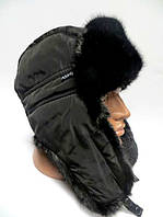 Мужская модная шапка ушанка