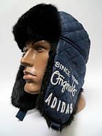 Шапка-ушанка мужская adidas
