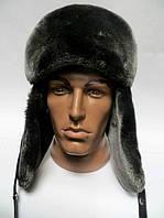 Модная молодежная мужская шапка ушанка