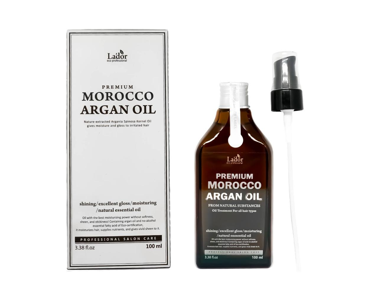 Масло для волос аргановое La'dor Premium Morocco Argan oil