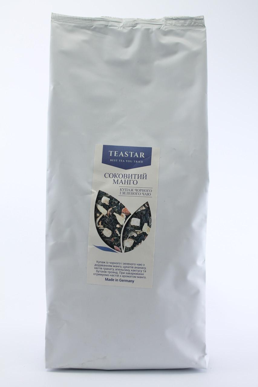 Чай черный Сочный манго крупно листовой Tea Star 100 гр