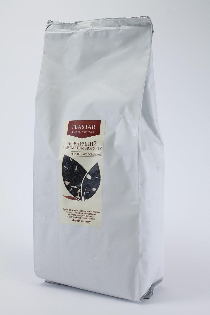 Чай черный ароматом йогурта крупно листовой Tea Star 50 гр