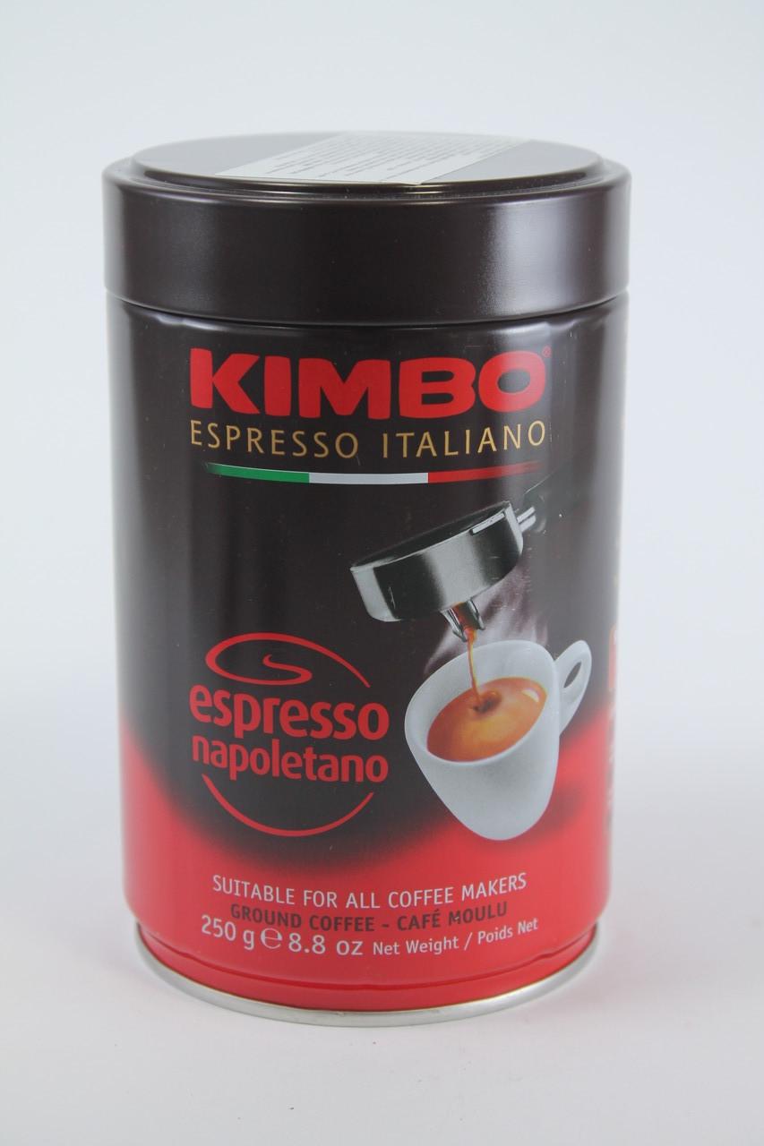 Кофе Молотый Kimbo ESPRESSO NAPOLETANO 80% Арабика 20% Робуста 250 гр