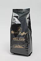 Кава в зернах Ricco Coffee Super Aroma Black 60% Арабіка і 40% Робуста 250 г