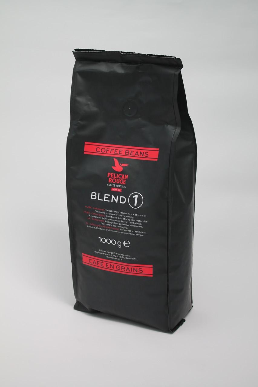 Кофе в зернах  Pelican Rouge Blend 10% арабики 90% робусты 1 кг
