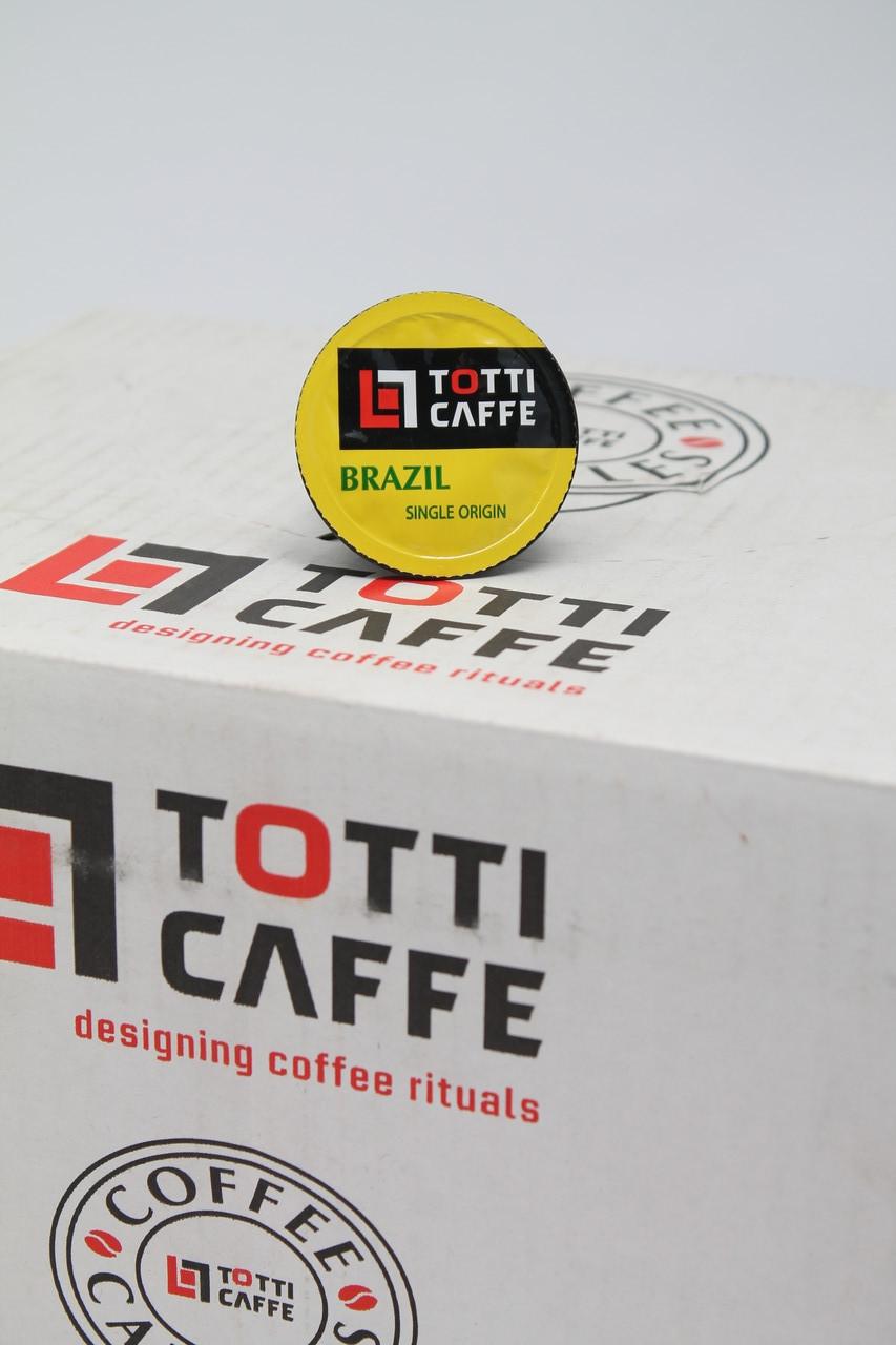 Кофе в капсулах TOTTI Brazill ОПТ РОЗНИЦА 8 г