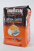 Кава в зернах 1 кг Lavazza Crema e Gusto Tradizione Italiana 70% Арабіка 30% Робуста