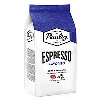 Кофе в зернах Paulig Espresso Favorito 1кг Финляндия