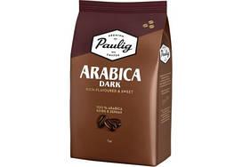 Кофе в зернах Paulig Arabica Dark 1 кг Финляндия