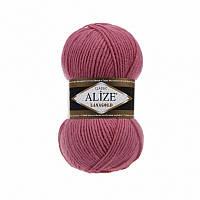 Пряжа Alize LanaGold Classic 100гр - 240м (359 Розовый), 51% акрил, 49% шерсть, Турция