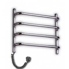 Рушникосушка Елна Стандарт 4 нержавіюча сталь Регулятор на вилці (РЕГ)