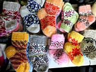 Детские шерстяные носки - овчина