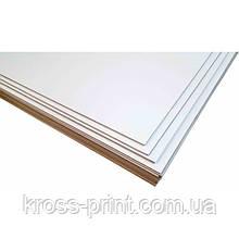 Картон палітурний білий 2,00 мм, А4+, двосторонній, 9шт