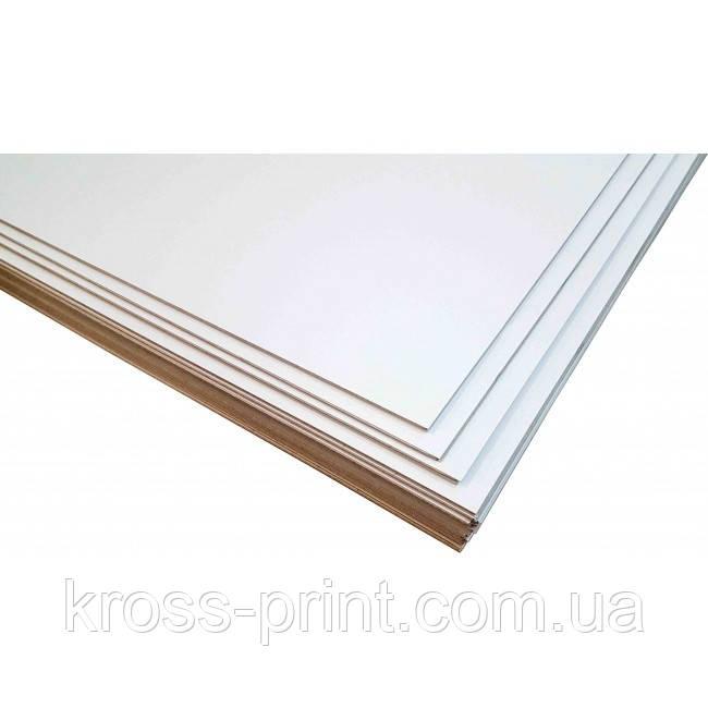 Картон переплетный белый 3,00 мм, А3+, двусторонний, 4шт